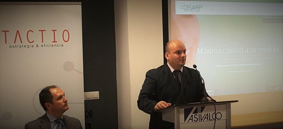 Claudio Garcia, Adjunto a la Gerencia de DISARP