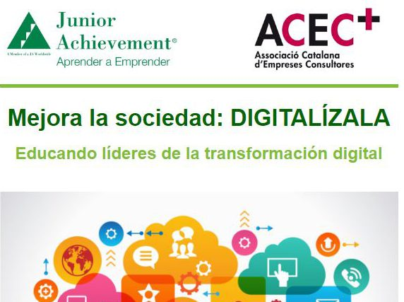 ACEC Junior Achievement y Generalitat